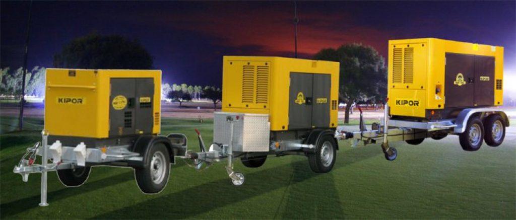 Generatoare de curent electric industraile Kipor