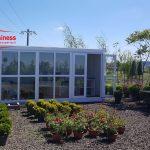 Container modular florarie